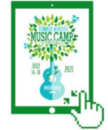 wumb samw summer music camp logo